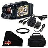 Canon VIXIA HF R800 Camcorder (Black) Full HD 1080p - Bronze Level Bundle