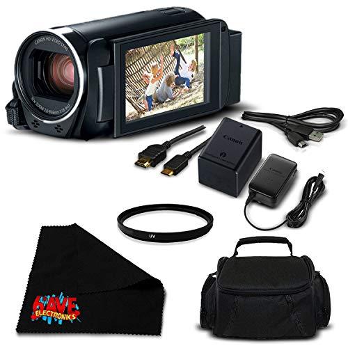 Best Buy! Canon VIXIA HF R800 Camcorder (Black) Full HD 1080p - Bronze Level Bundle