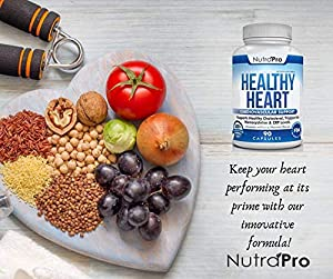 Healthy Heart - Heart Health Supplements. Artery Cleanse & Protect. Supports Cholesterol and Triglyceride Balancing. GMP Certified #5
