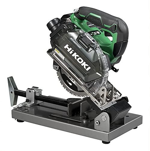 HiKOKI(ハイコーキ) 36V 150mm チップソー切断機 軟鋼材・ステンレス切断用 キックバック軽減システム搭載 蓄電池1個 急速充電器 鉄工用チップソー付き CD3605DFA(XP)