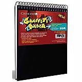 Crescent Graffiti Manga Papier: Spirale Papier gebunden Pad: weißes Papier 150 g 25 Blatt: 9 x 12 cm