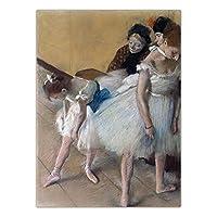スカンジナビア 装飾 家 レトロ 絵画インテリア エドガー ドガ アートパネル キャンバス バレエ ダンサー 壁 アートパネル ポスター 版画 壁 装飾 リビング 部屋 写真 40x60cm いいえ フレーム