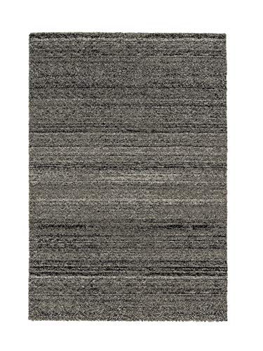 ASTRA Samoa Melange Webteppich, Polypropylen, anthrazit, 80 x 150 x 2 cm