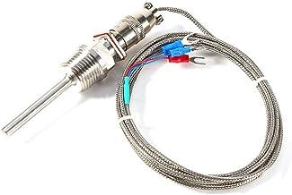 RTD Pt100 Sensor de temperatura Sonda L 5 cm 1/2