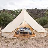 JTYX Tenda da yurta in Mongolia Tenda da Campeggio Grande 5-8 Persone Tenda da Campeggio Indiana Impermeabile per Esterni Tenda familiare per Escursioni a Guida autonoma