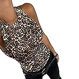 Berrd Recién Llegado de Las Mujeres Catton Crop Tops Summer Camis Ladies Casual Tank Tops Chaleco sin Mangas Tops Feminino Camisa elástica Chaleco - I, L