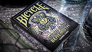 MTS Bicycle Stained Glass Behemoth Playing Cards
