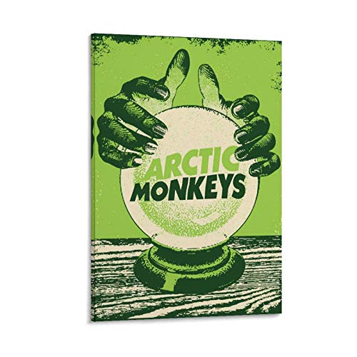 JNFB Artwork Arctic Monkeys Póster Lienzo Arte Póster Arte de Pared Imagen Impresión Moderna Habitación Familiar Póster 20x30 cm