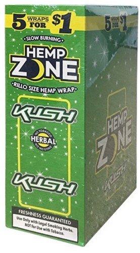 Hemp Zone Cigar Wraps (Kush)