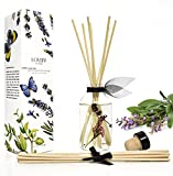 LOVSPA Lavender & Clary Sage Aromatherapy Essential Oil Reed Diffuser...