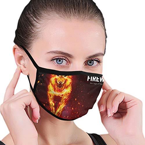 Uosliks Masken Happy Dog (100) Gesichtsmaske Wind