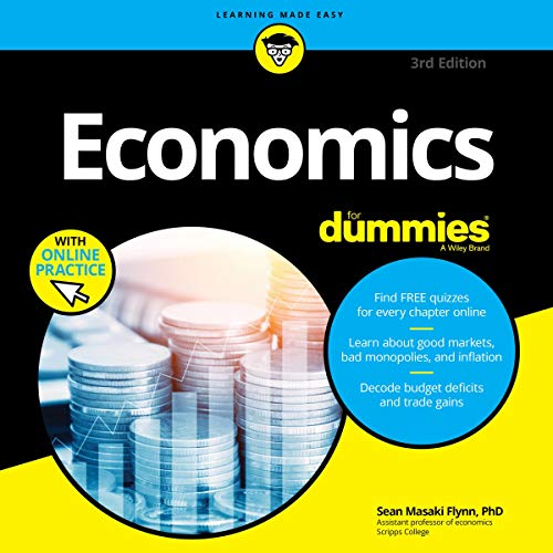 Economics for Dummies, 3rd Edition audiobook cover art