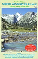 Northern Wind River Range Hiking Map& Guide