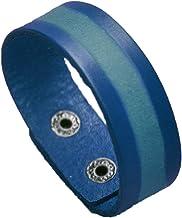 Outgeek Cuff Wristband Vintage Simple Leather Wrap Bracelet for Decoration