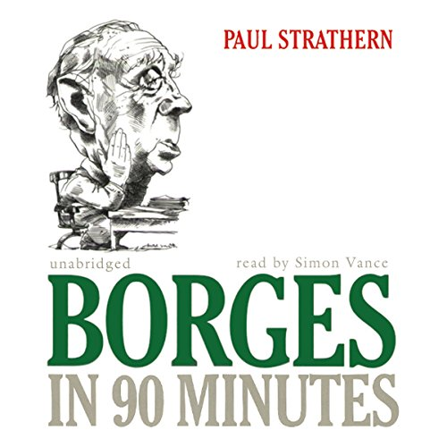 Borges in 90 Minutes audiobook cover art