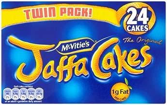 McVities Jaffa Cakes (英国製 マクビティ・ジャファケーキ)Pack of 24 300g 【並行輸入品】【海外直送品】
