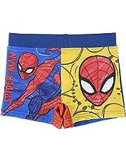 Spiderman Bañador para Niños, Bañador Tipo Bóxer, Bañador Slip, Vacaciones, Secado Rápido y Transpirable, Talla 2 a 6 Años