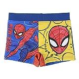 Spiderman Pantaloncini da Bagno per Bambino e Ragazzi, Costume Mare Boxer Slip Calzoncini da Bagno, Traspirante ad Asciugatura Rapida, 4 Anni