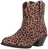 Ariat Women's Darlin Western Boot, Leopard Print, 7 B US