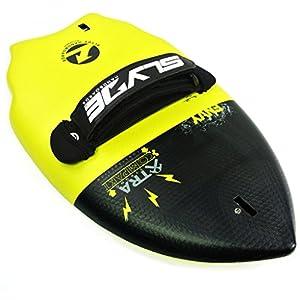 Slyde cuña Cuerpo Surfing handboard/Handplane con cámara integrada, Correa Enchufe de sujeción y Ajustable Correa 4