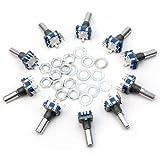 10x Encoder Switch 12mm Interruttore a Bottone Trasduttore di Posizione Angolare