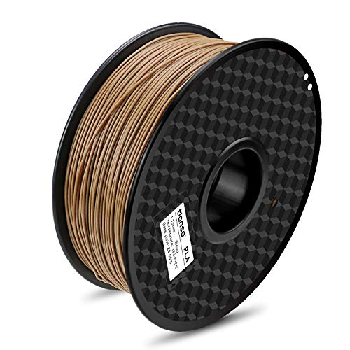 TIANSE Filamento de PLA para la impresora 3D / Pluma 3d, 1 kg 1,75 mm(Madera)