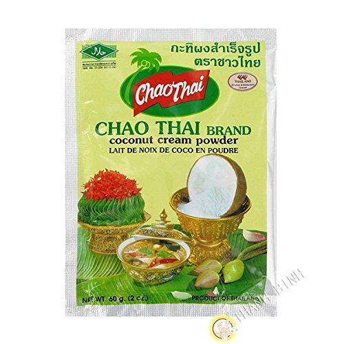 [ 60g ] CHAO THAI Kokosmilchpulver / Kokos Cream Pulver / coconut cream powder