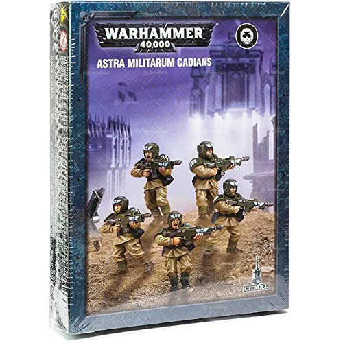 Games Workshop 99120105071 leicht aufzubauen Astra Militarum cadians Plastic Kit