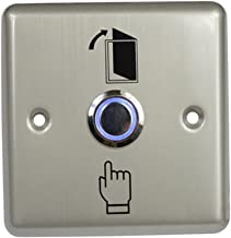 Baosity LED Backlight Entry Access Control Door Press Exit Release Button Switch