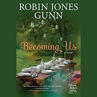 Becoming Us audiobook cover art