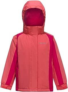 Girl's Waterproof Ski Jacket Kids Outdoor Windproof Fleece Lined Hooded Winter Coat