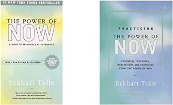 The Power of Now: A Guide to Spiritual Enlightenment + Practicing The Power Of Now (Set of 2 Books)