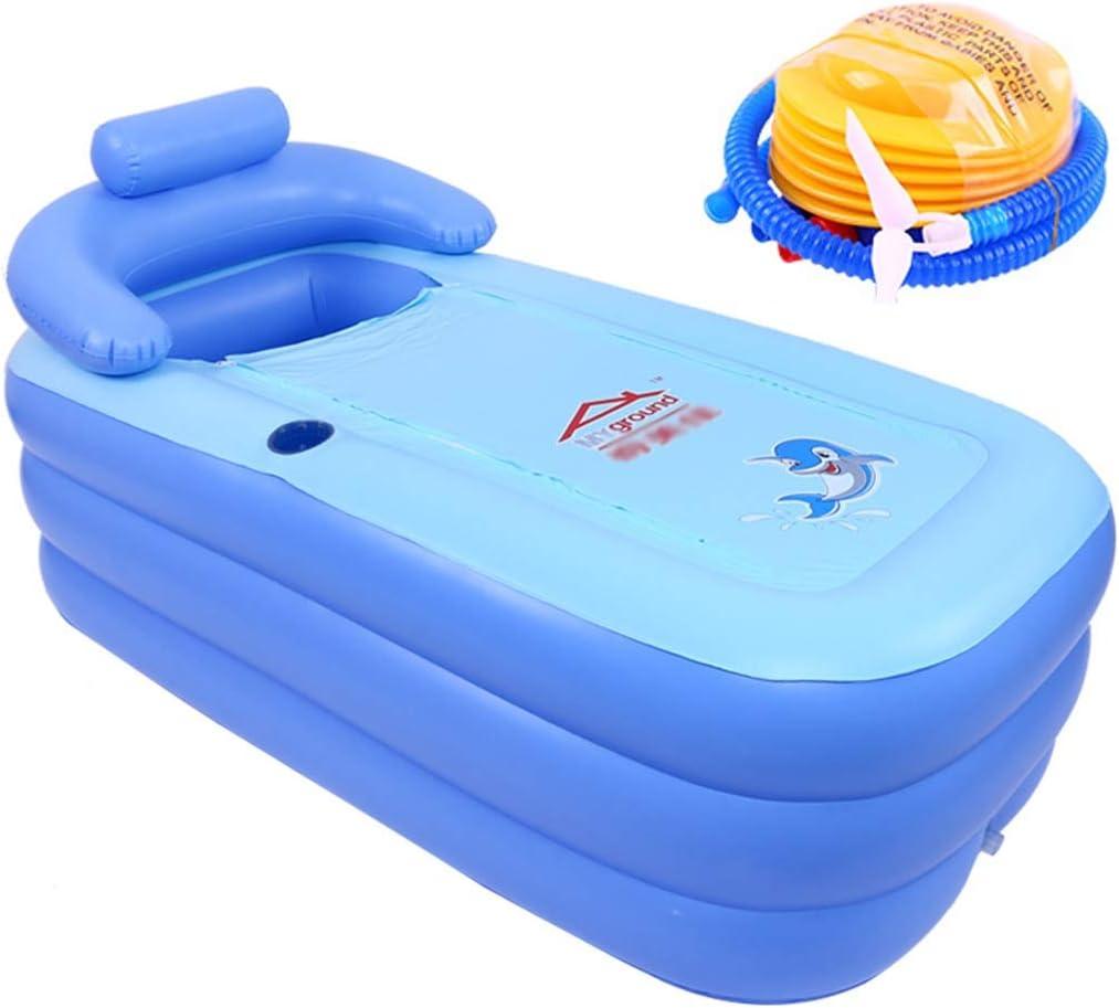 ZHANYI Folding Inflatable Bathtub Adult Pool unisex fo PVC Fashionable Spa Suitable