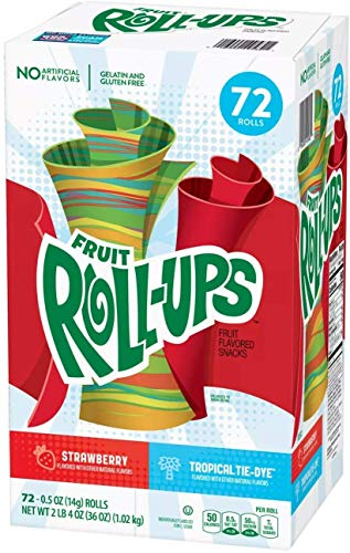 Crocker Fruit Roll-Ups Variety Pack 72ct/box
