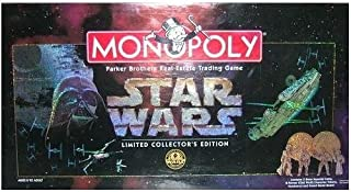 Monopoly 1997 Star Wars Monopoly Limited CollectorS 20Th Anniversary Edition