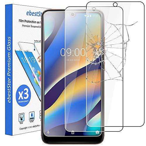 ebestStar - kompatibel mit Wiko View3 Lite Panzerglas [x3 Pack] (2019) Schutzfolie Glas, Schutzglas Bildschirmschutz, Bildschirmschutzfolie 9H gehärtes Glas [View3 Lite: 155,5 x 73 x 8,7mm, 6.09'']