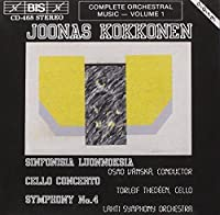 V 1: Complete Kokkonen Edition by JOONAS KOKKONEN (1994-03-25)