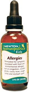Newton Labs Homeopathic Remedy Kids Allergies 1.7oz Liquid