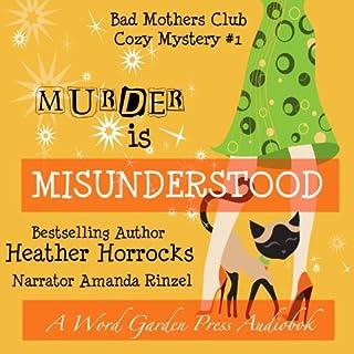 Murder Is Misunderstood audiobook cover art