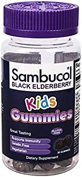 60-Count Sambucol Black Elderberry Kids Gummies