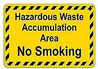 有害廃棄物集積エリア禁煙