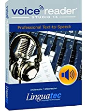 Voice Reader Studio 15 Indonesio / Indonesia / Indonesian – Professional Text-to-Speech - Programa para convertir texto a voz (TTS) para Windows PC