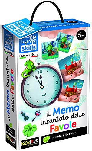 Lisciani Life Skills-MEMO INCANTATO delle Favole 84098