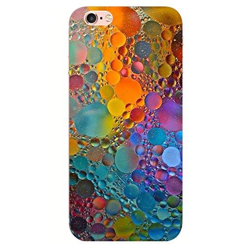 iPhone 6S Custodia, iPhone 6 Cover,Case Morbido Trasparente Antiurto Silicone Originale con Disegni TPU Bumper con Apple Case Protettiva Trasparenti Posteriore per iPhone 6 / iPhone 6S (Marmo 5)