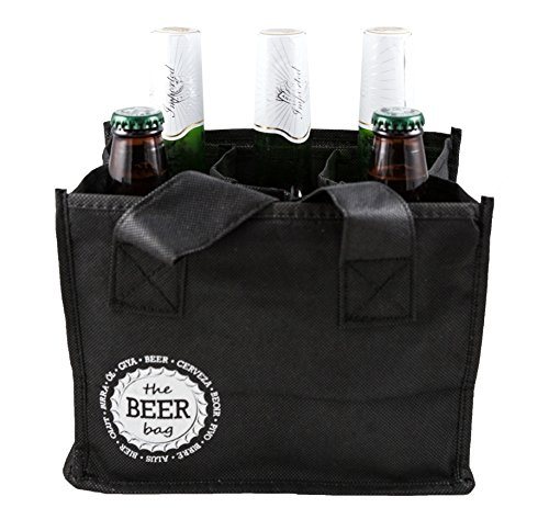 Berk Reusable 6 Pack Beer Shopping Bag
