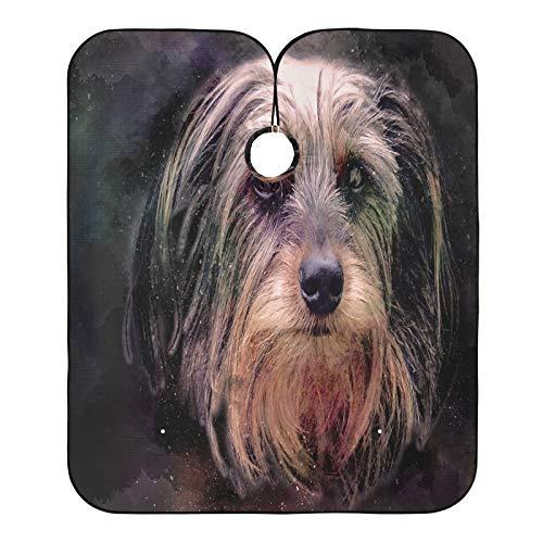 Cabo de peluquero para perros con cabeza pequeña, con diseño de mascotas, para cortar el pelo, para el salón de casa y barbería