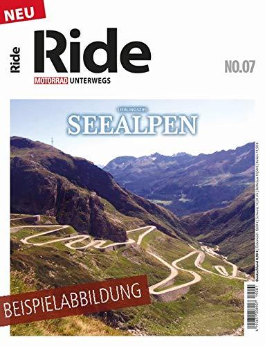 RIDE - Motorrad unterwegs, No. 8: Seealpen