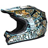 CARTMAN DOT Youth Motocross Offroad Street Skull Motorcycle Full Face Child Helmet