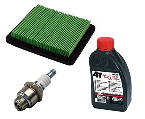 gardexx Luftfilter, Flachluftfilter + Zünkerze + Öl für HONDA GCV135 / 160 GC135 / 160