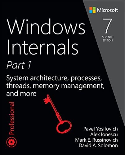 Windows Internals Part 1 System architecture processes threads memory management and more Developer product image